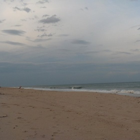 The Atlantic Ocean beaches are a major tourist attraction at Vero Beach, Florida.