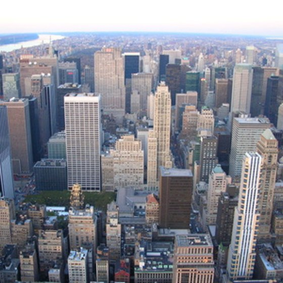New York City is a popular location for staying in a youth hostel.