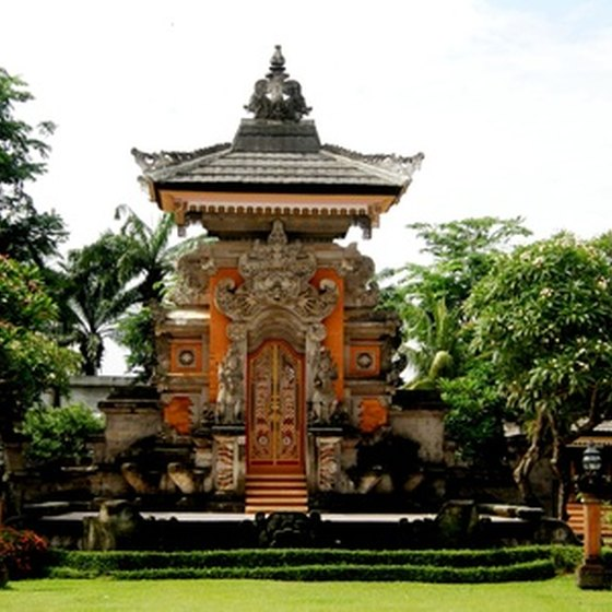 Balinese culture celebrates the spiritual relationship between humans, God and the environment.