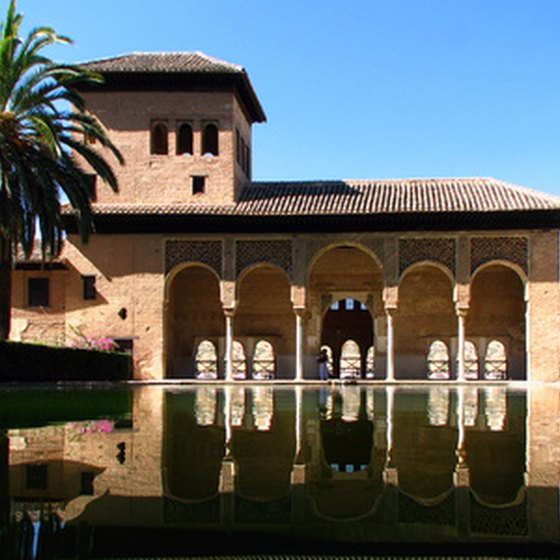 The Alhambra in Granada is one of Spain's many reasonably priced attractions.