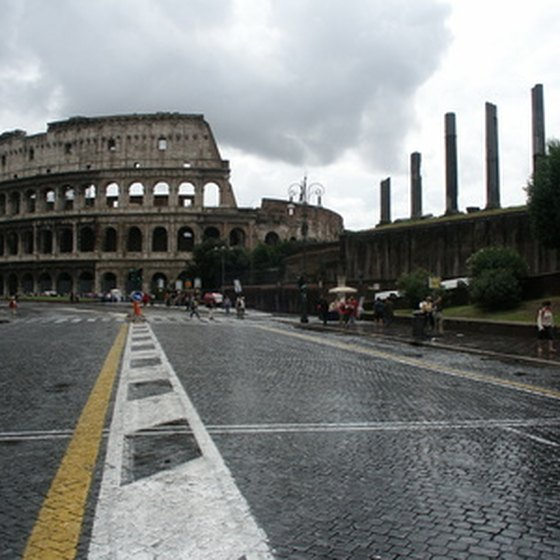 The Roman Colosseum is a must-see on any tour of Rome.