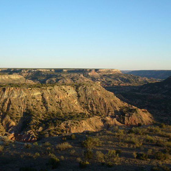 Palo Duro Canyon has several campgrounds in the area.