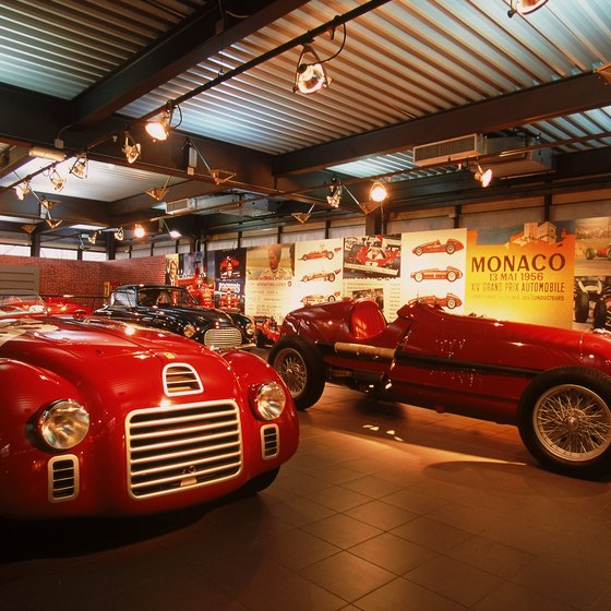 The Ferrari Museum is the main attraction in Maranello.