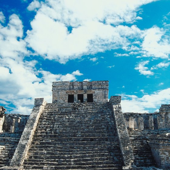 The Mayan ruins at Tulum are among Playa del Carmen's excursions.