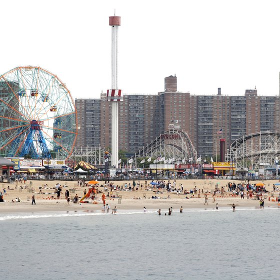 Coney Island is one of the city's most popular beaches.
