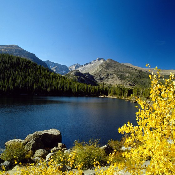 Colorado offers many scenic campsites.