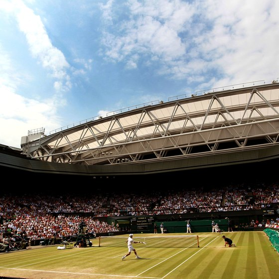 The All England Lawn Tennis Club Championships take place at Wimbledon.