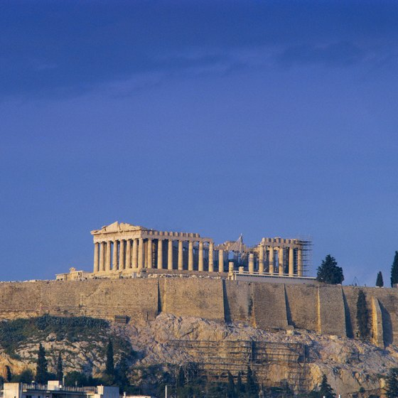 The Acropolis in Athens is often a highlight of a Mediterranean cruise.