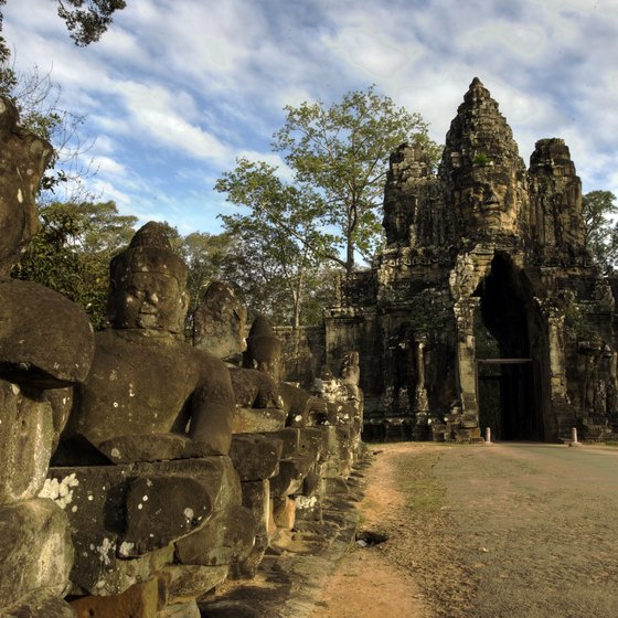 What you bring to Angkor depends on whether you stick to the main temples or venture farther afield.