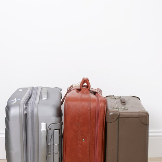 Check the dimensions and weight of your luggage before travel.
