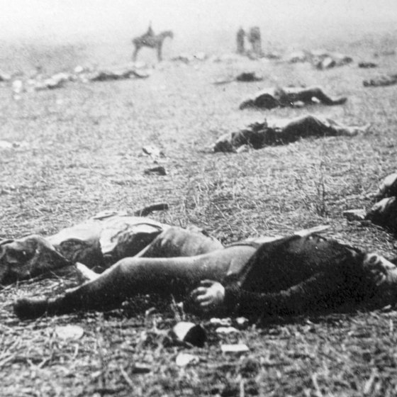 More than 51,000 soldiers became casualties in three days at Gettysburg in 1863.