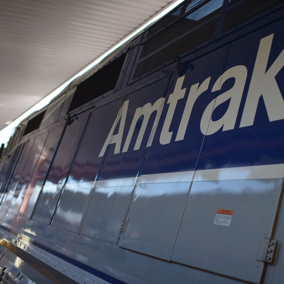Amtrak sends 300 trains a day to travel over 21,000 miles of rail across 46 states.