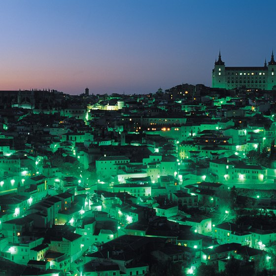 Toledo, Spain's Gothic cathedral overlooks the city.