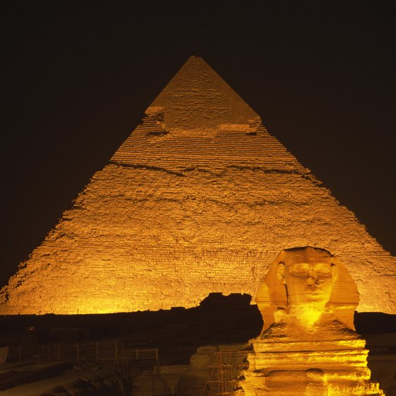 Giza is part of Cairo's sprawling metropolis.