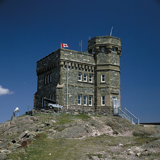 Cabot Tower is one of Newfoundland's many historic monuments.