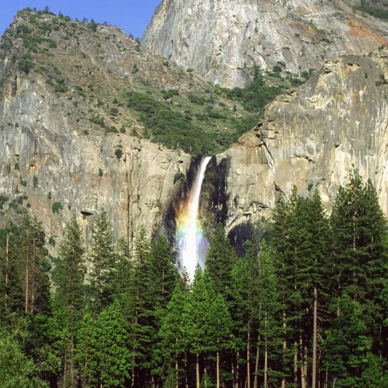 Yosemite National Park offers its share of swimming holes.