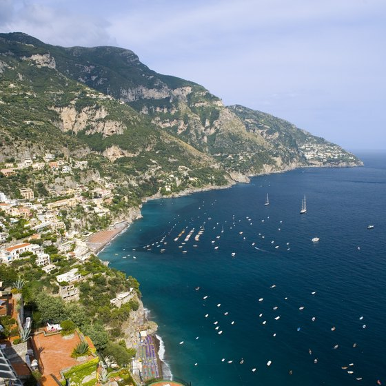 Positano, on the Amalfi Coast, is an easy excursion from Sorrento.