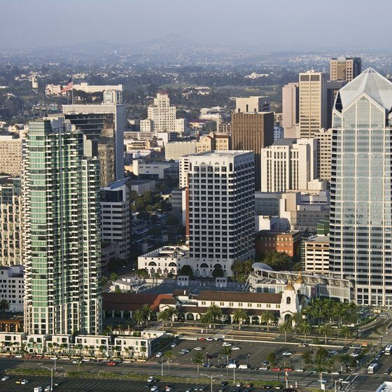 San Diego has quality hotels that offer monthly rates.