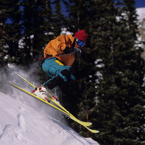 Skiing is the predominant Jackson Hole-area activity in winter.