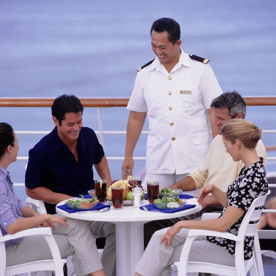 Sticking to non-alcoholic beverages and all-inclusive dining greatly reduces your cruise cost.