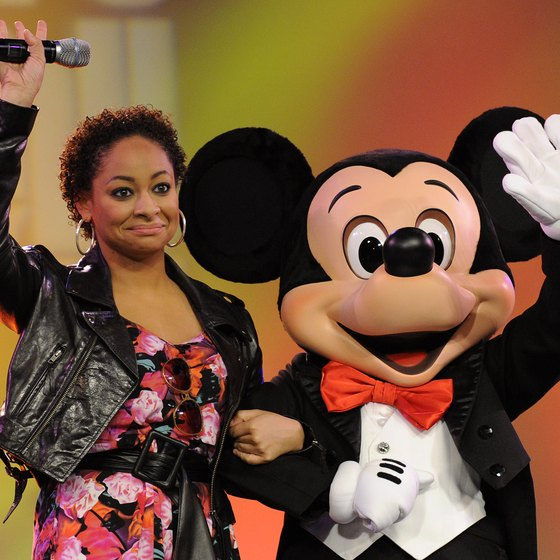 Actress and singer Raven-Symone was a speaker at Epcot in March 2011 in Lake Buena Vista, Florida.