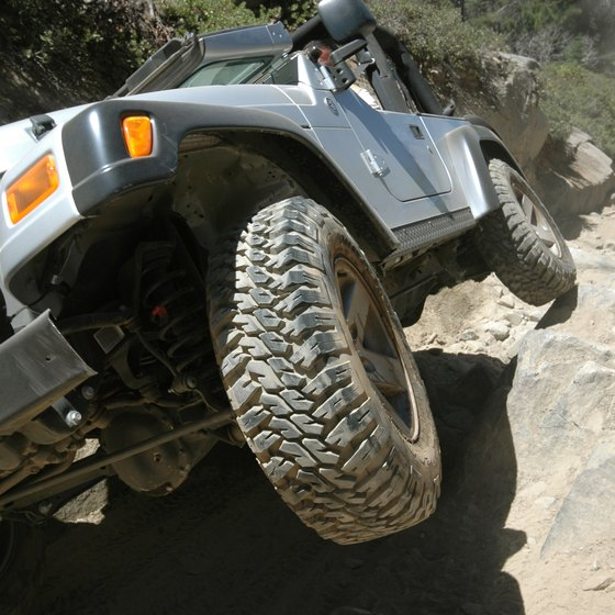 Clayton has off-road trails to challenge all driving abilities.