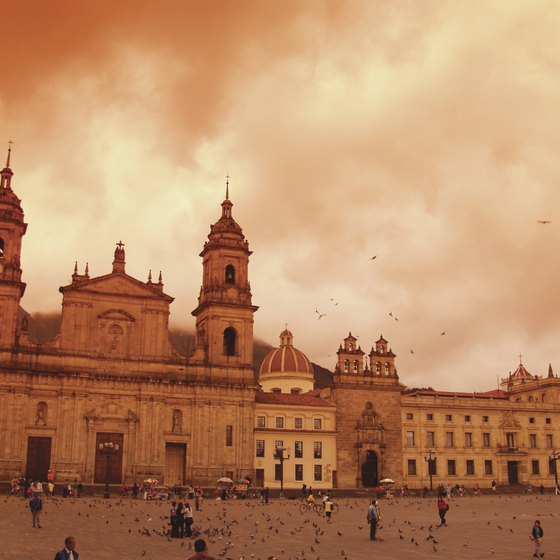 Bogota's historic monuments include several historic cathedrals.