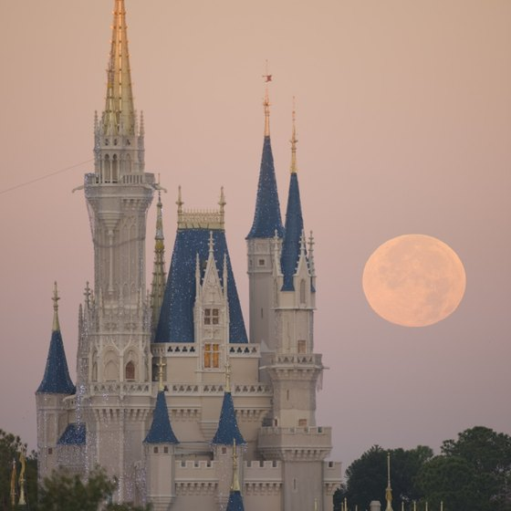 The iconic Cinderella Castle