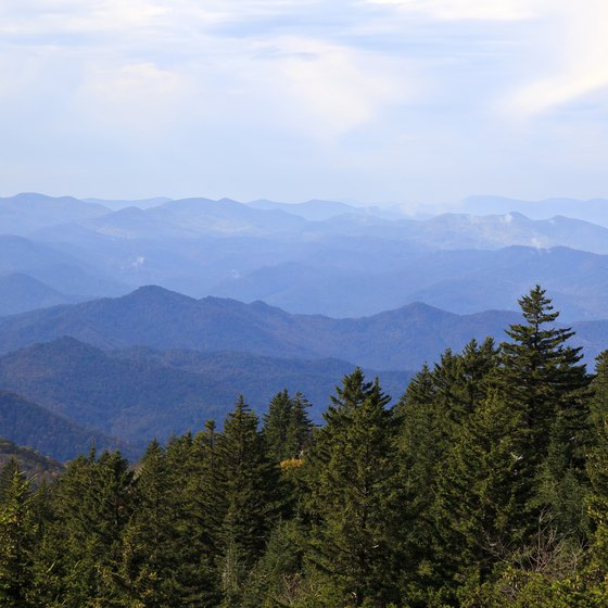 Virginia's iconically picturesque Blue Ridge Mountains are among the state's most visited landforms.