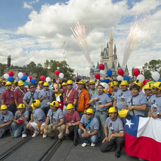 Special events, such as hosting the Chilean miners, might draw larger-than-expected crowds to Orlando parks.