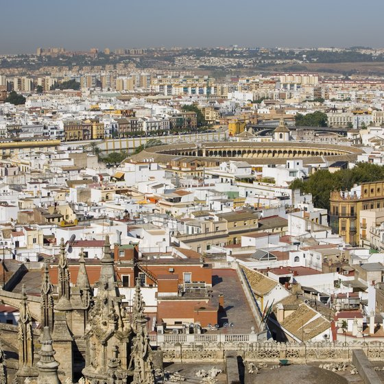 Most travelers to Cadiz pass through Seville, the nearest large city, on their way to the southern Atlantic coast.