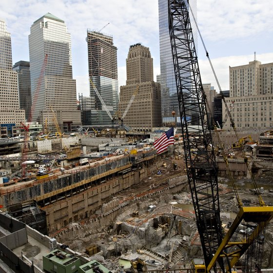 Terrorist attacks on September 11, 2001 leveled the two World Trade Center towers in New York City.