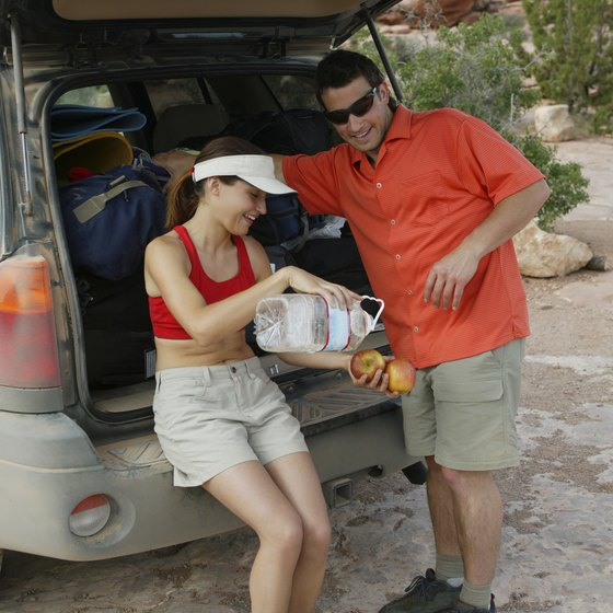 Be sure to pack plenty of water for desert hikes.