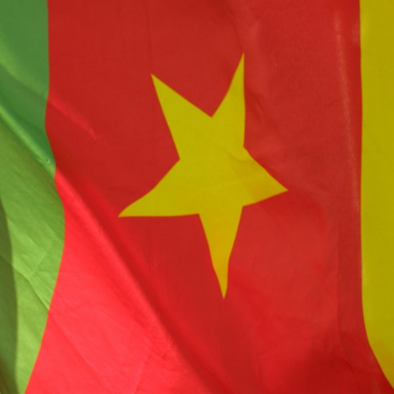 The Cameroonian flag represents hope, unity and prosperity.