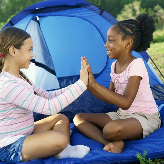 Kids who start camping young develop a life-long love of it.