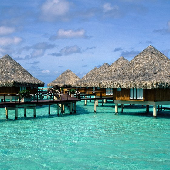 Bora Bora's over-the-water huts and natural attractions make it a dream destination.