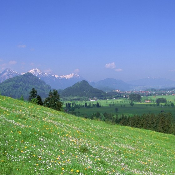 Active families will enjoy Germany's varied countryside.
