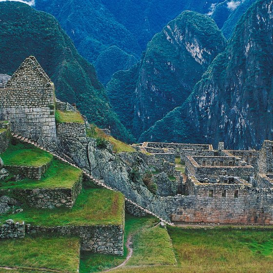 Machu Picchu is the site of an ancient Incan civilization dating back to 1450.
