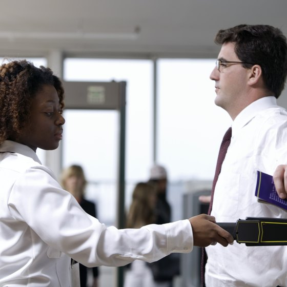 Remove all medications from your person before passing through the metal detector to avoid triggering an alarm.