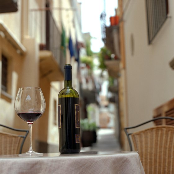 Wine tourism in Italy is big business.
