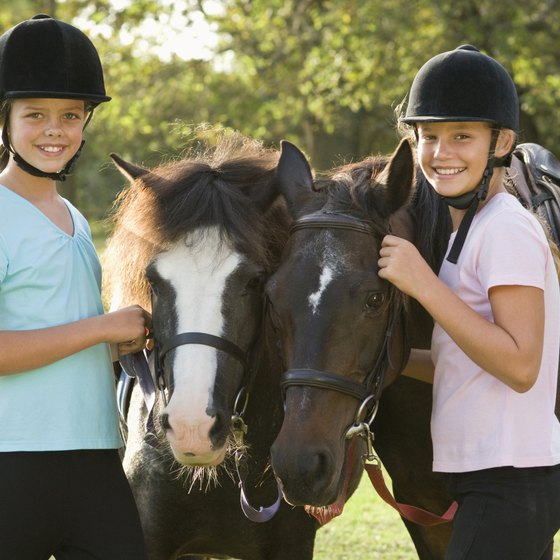 Greensboro area stables offer horse camps to riders at all skill levels.
