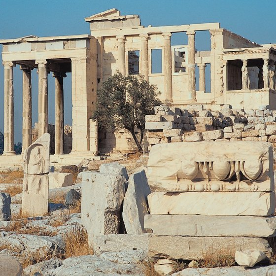 The Acropolis in Athens is Greece's most famous landmark.