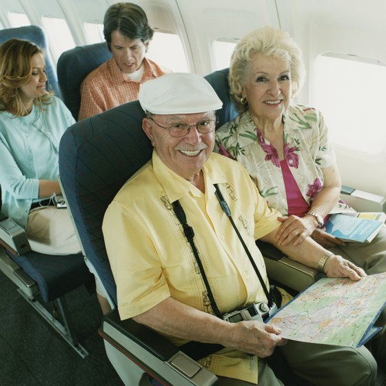 Select airlines offer seniors discounted tickets.
