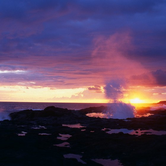 Experience some of the best sunsets in the world while taking an evening stroll on one of Kauia's many free beaches.