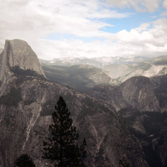 Little Yosemite Valley is in close proximity to Half Dome and Nevada Falls.