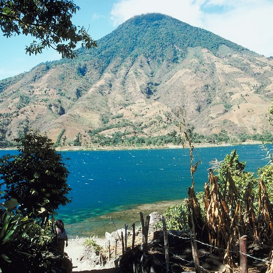 A trip to Guatemala's Lake Atitlan is a popular tour from Puerto Quetzal.