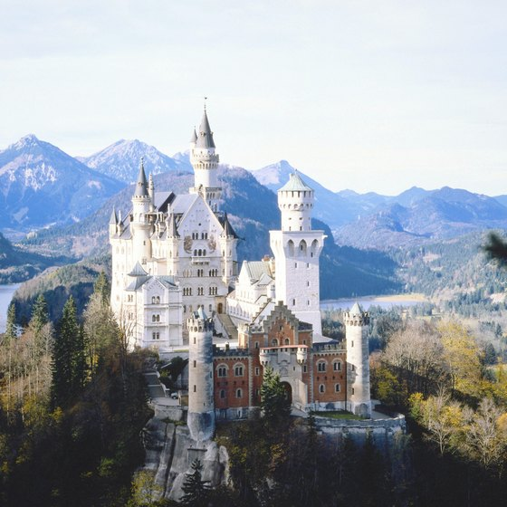 Neuschwanstein is one of countless castles scattered throughout Germany.