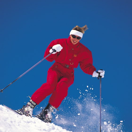 Skiers of all levels will find suitable trails near Ogunquit.