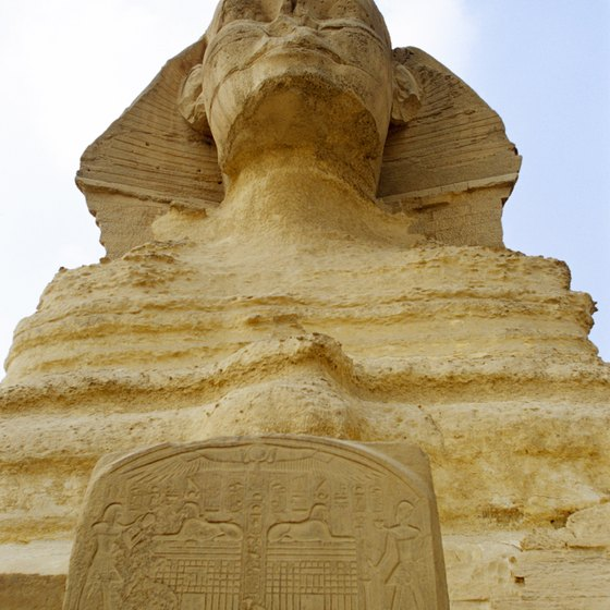 The sphinx is fascinating, but Egypt offers many more archaeological attractions.