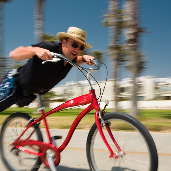 Southern California has numerous opportunities for beachfront cruising for all ages.